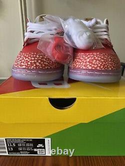 Nike Sb Dunk Low x Stingwater Magic Mushroom Mens Size 11.5