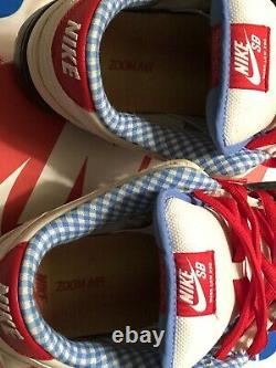 Nike sb dunk low dorothy Size 11.5 Wizard Of Oz! Zoom Air Skate Shoe