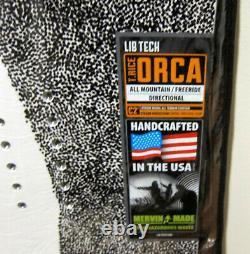 Orca Powder BTX lib tech technologies 150 cm 150cm magic Snowboard t rice evil