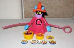 Orko W Magic Trick Complete Masters of the Universe He-Man Lot MOTU Mattel Rare