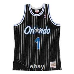 Orlando Magic Anfernee Penny Hardaway Mitchell Ness Black 1994-95 HWC NBA Jersey