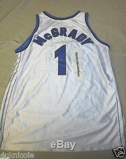 Orlando Magic Tracy McGrady #1 99/00 Champion Pro Cut Jersey Size 52 Authentic