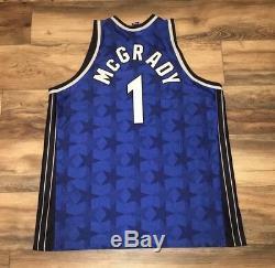 Orlando Magic Tracy McGrady VTG Champion Authentic NBA Basketball Jersey XXL 52