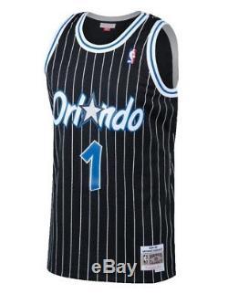 Penny Hardaway #1 Orlando Magic Mitchell Ness Mesh NBA Throwback Jersey Black