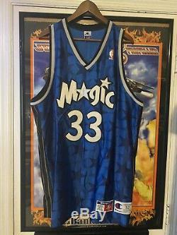 RARE AUTHENTIC Grant Hill Orlando Magic Champion NBA Basketball Jersey 52 VTG