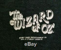 RARE Vintage 1994 Stanley Desantis Wizard of Oz Ruby Slippers Sweatshirt Large