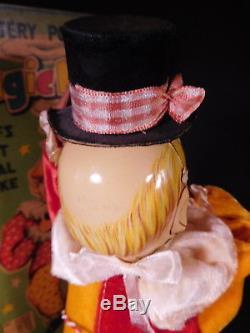 RARE vintage tin toy B/OP REMOTE Control MAGIC MAN NMIB-FUJI PRESS KOGYO Japan