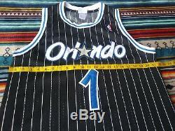 REEBOK HARDWOOD CLASSICS ORLANDO MAGIC TRACY MCGRADY NBA JERSEY sz 40