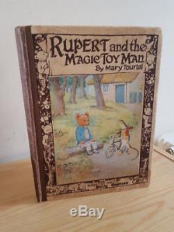 RUPERT AND THE MAGIC TOY MAN Mary Tourtel v early 1920s Rupert Bear book