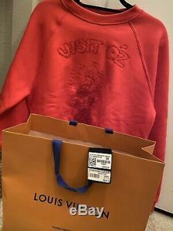 Rare Louis Vuitton Sweater Wizard of Oz Red Sz M