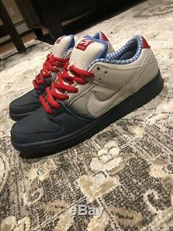 Rare Nike SB Dunk Low Premium Dorothy Wizard Of Oz Size 12 Mens