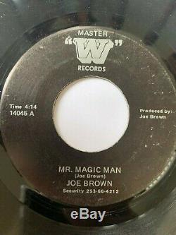 Rare Sweet Soul 45/ Joe Brown Mr. Magic Man W Hear