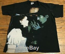 Rare Vintage 90s Stanley Desantis Wizard Of Oz T-Shirt Large Witch Dorothy