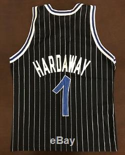 Rare Vintage Champion NBA Orlando Magic Penny Hardaway Basketball Jersey