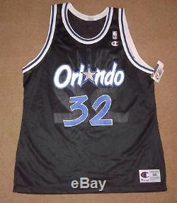 designer fashion e5869 f230d Rare Vintage Shaquille O'Neal #32 Orlando Magic Champion NBA ...