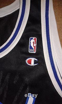Rare Vintage Shaquille O'Neal #32 Orlando Magic Champion NBA Jersey Mens 48 XL