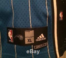 Rashard Lewis Orlando Magic Nba Jersey Men XL Adidas Sewn #9 Vtg Rare Pinstripes