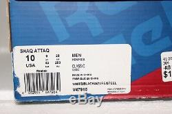 Reebok Pump SHAQ ATTAQ ATTACK Orlando Magic mens size 10 Basketball shoes
