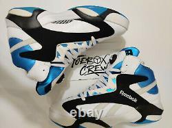 Reebok Shaq Attaq The Pump Orlando Magic Men's Shoes Black Blue Size 13