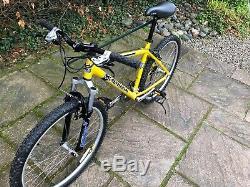 Retro 1999 Kona Nunu 18 Gents MTB Mountain Bike Bicycle Magic Yellow Mint Cond