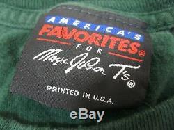 Seattle Supersonics Magic Johnson T's NBA Basketball Vintage 90's L-XL T Shirt