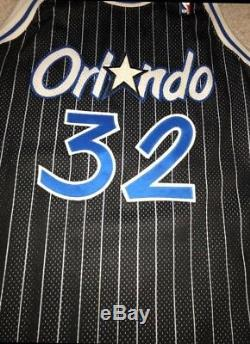 Shaq Shaquille ONeal Orlando Magic authentic Champion Jersey Mens Xl 48