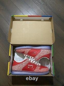 Size 10.5 Nike SB Dunk Low x Stingwater Magic Mushroom 2021