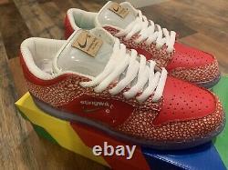 Size 9 Nike SB Dunk Low x Stingwater Magic Mushroom 2021