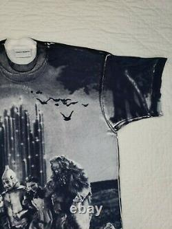 Stanley Desantis Mens T Shirt All over Print Wizard of OZ Size XL Made in USA