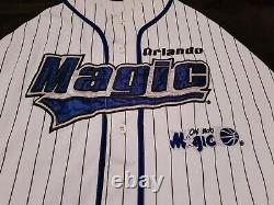 Starter Orlando Magic Pinstripes Jersey Trikot NBA/MLB/NFL/NCAA Vintage Rar