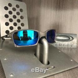 Sunglasses oakley x squared xmetal lenses magic blue serial number 6011-01 rare