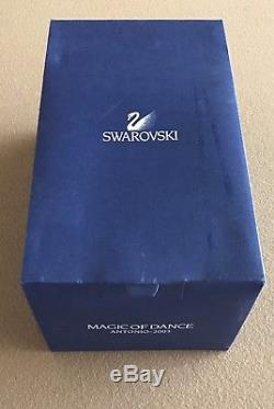 Swarovski Crystal Magic Of Dance Antonio 2003 Dancing Man Figurine 606441