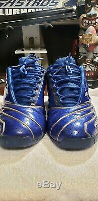 T-Mac Tmac 2 II Blue RARE Basketball shoes mens Adidas 2002 Original Sz 10 Magic