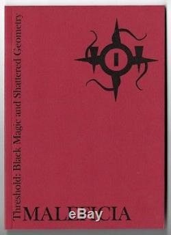 THRESHOLD BLACK MAGIC AND SHATTERED GEOMETRY Occult LIMITED ED Fall of Man 4 VOL