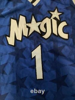 TRACY MCGRADY #1 Orlando Magic CHAMPION Authentics Basketball Jersey 52 XXL 2XL