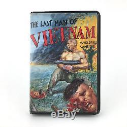 The Last Man Of Vietnam. Estuche Magic Team España Sinclair Zx Spectrum Cassette