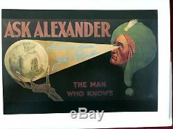 The Life And Times Of Alexander The Man Who Knows By Darryl Beckmann Book LIM Ed