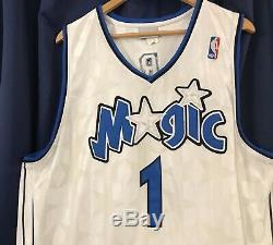 Tracy McGrady Reebok Orlando Magic Jersey Size 46 100% Authentic