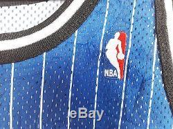 VINTAGE 90s CHAMPION ORLANDO MAGIC SHAQUILLE O'NEAL #32 NBA SEWN JERSEY MEN'S 48