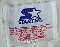 VINTAGE 90s STARTER SATIN Orlando MAGIC mens L jacket MADE IN USA authentics