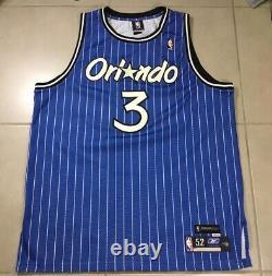 VTG NBA Orlando Magic HWC Steve FRANCIS 3 Sz 52 Reebok SEWN Team Apparel Jersey