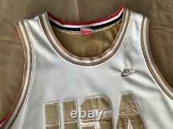 VTG Nike 1992 USA Olympics Dream Team Earvin Magic Johnson Basketball Jersey XL