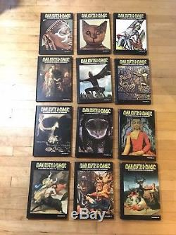 Vintage 1970 MAN MYTH & MAGIC Illustrated Encyclopedia set COMPLETE 24 volume