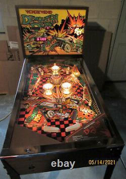 Vintage 1977 Wonder Wizard Demolition Derby Pinball Machine Game Room Man Cave