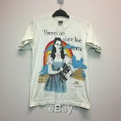 Vintage 1989 Wizard Of Oz No Place Like Home T-shirt Sz. M Made in USA