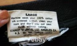 Vintage 1992 Stanley Desantis Sz Large Wizard Of Oz Cowardly Lion T-Shirt MINT