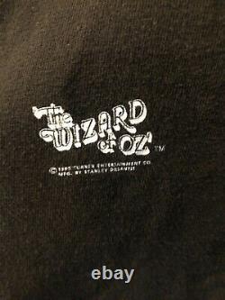 Vintage 1995 wizard of oz slippers tee Stanley Desantis tag XL Single Stitch