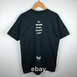 Vintage 90s 1994 Wizard of Oz Stanley Desantis All Over Print Shirt Size Large
