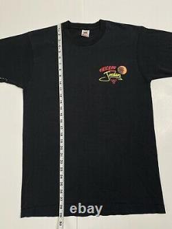 Vintage 90s Magic Johnson Ts Michael Jordan Hang Time Double Sided T-shirt L