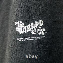 Vintage 90s Shirt The Wizard Of OZ Stanley Desantis Movie Tee Promo Rare 1995 L